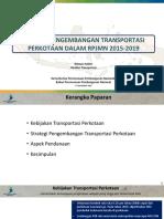 161115 Bappenas - Public Hearing Pengembangan Transportasi Kota Medan