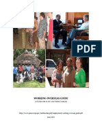 Peace Corps Working Overseas Guide  |  June 2010 - 95 pp.