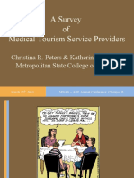 A Survey of Medical Tourism Service Providers - ABE