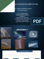 Clasificación de meteoros