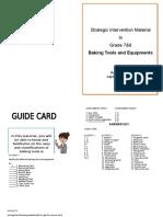 SIM TLE Booklet