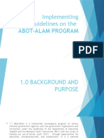 Abot Alam Program