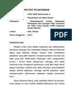 3.Metode Pelaksanaan Air Baku 20- 2