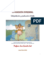 Comunicacion Empresarial; Interpretacion y Produccion de Texto