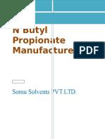 N Butyl Propionate Manufacturers