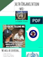 who presentation