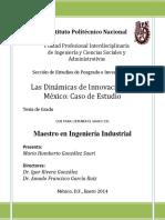Las Dinámicas de Innovación en México