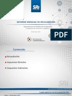 Informe de Recaudacion_ 2015