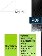 IQAMAH