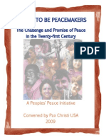 Called to Be PeaceMakers