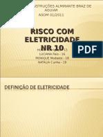 Risco Com Eletricidade NR 10