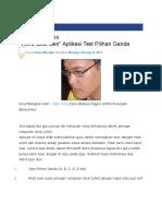 _Word Quiz Gen_ Aplikasi Test Pilihan Ganda - Al-Maududy