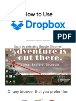 How to Use Dropbox - Monico de Chavez - Virtual Powerhouse