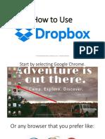 How to Use Dropbox - Monico de Chavez - Virtual Powerhouse