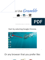 How to Use Gramblr - Monico de Chavez - Virtual Powerhouse