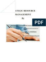Sample ON Strategic Resource Management
