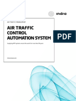 Indra Air Traffic Control Automation System