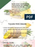 Penggunaan Serat Daun Nanas Sebagai Adsorben Zat Warna.pptx