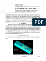 Development of A 3d Model Eddy Current Testing