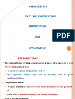 PPT Ch 6 Project Implementation