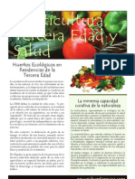 Horticultura, tercera edad y salud