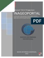 Petunjuk Teknis Penggunaan INAGEOPORTAL