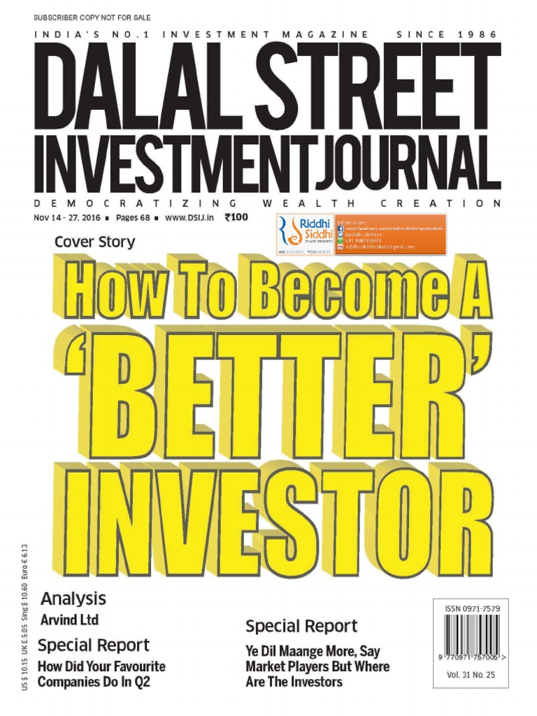 Dalal Street 14th November | Investing | Stocks