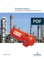 Bettis Cba 300 Series Pneumatic Actuators Us Data
