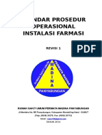 Standar Prosedur Operasional Instalasi Farmasi