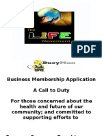 Business Membership Package