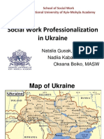 Social Work in Ukraine