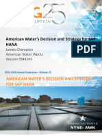 A4243 4243 Presentation 1 1 - American Water