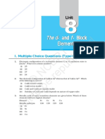 CBSE NCERT Exemplar Questions Solutions CBSE Class 12 Chemistry Chapter 8 the d and f Block Elements
