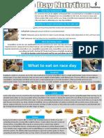 Nutritia in ziua Competitiei