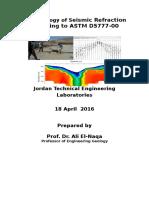 Methodology of Seismic Refraction