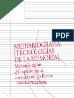 8. Mediabiografías Tecnologías de La Memoria - Virginia Villaplana