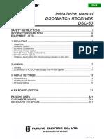 DSC60 Installation Manual D 7-4-01