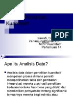 Analisa Penelitian Kuantitatif