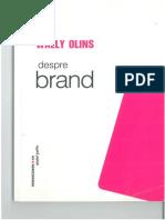 Wally Olins - Despre Brand