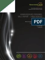 Gsa Hr Skills Survey Large Agencies Report 0