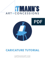 Caricature Learning manual for dummies