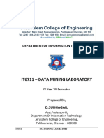 IT6711-Data Mining Lab