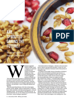 ARE SPROUTED GRAINS THE FUTURE?