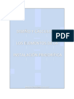 Diseño y Calculo Instalacion Frigorifica