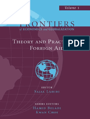 Sajal Lahiri] Theory and Practice of Foreign Aid
