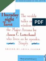 Jason Lotterhand - The Thursday Night Tarot