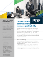 Genpact Implements Icertis Contract Management Software to Automate and Manage its Customer Contract Lifecycle