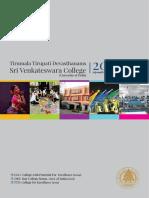 Venkateswara College, Information Bulletin 2015
