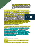 Artikel Ini Menerangkan Dan Membandingkan Teknik Yang Paling Biasa Digunakan Dalam Penyelidikan Kualitatif