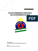 Plan Emergencias Municipal Jaen